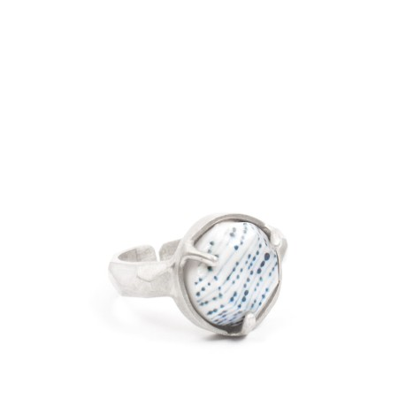 Abby Seymour Universe-threads-blue-Ring-Silver-Clasp-01