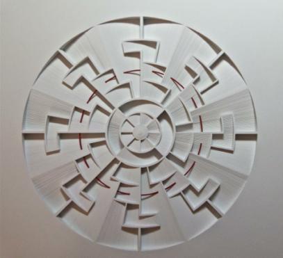 Mandala II by Jacky Cheng