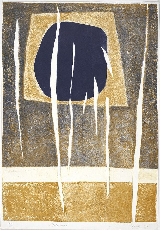 Dark Moon by Judy Cassab, 1969