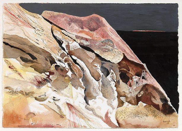 Hillside, Rainbow by Judy Cassab, 2003