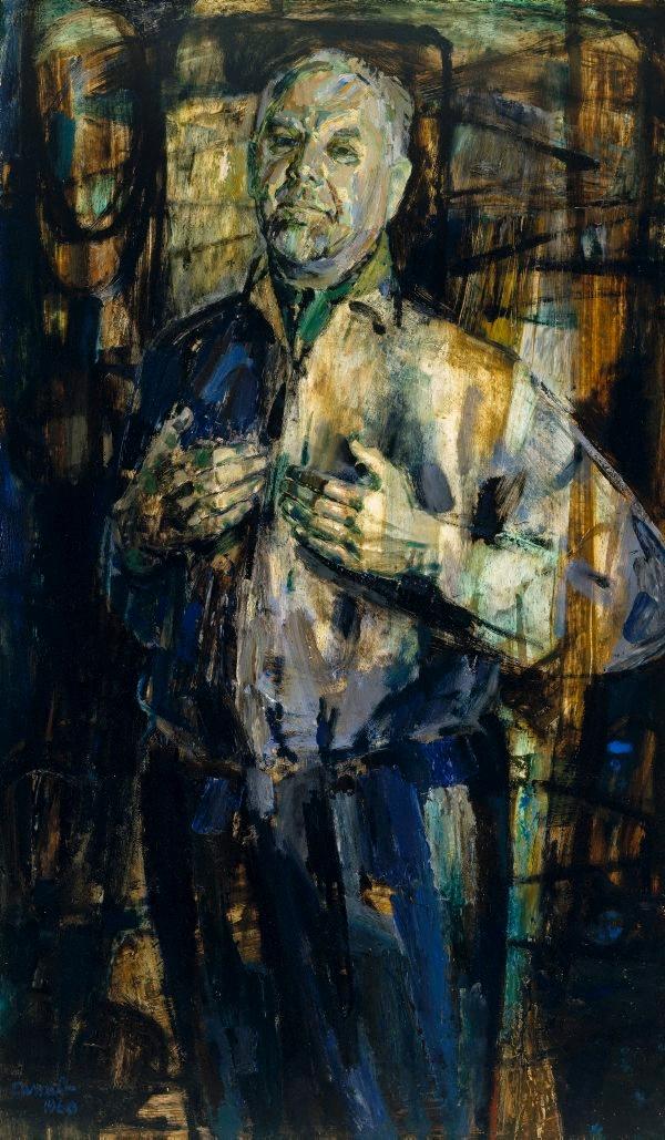 Stanislaus Rapotec by Judy Cassab, 1960 Archibald Prize