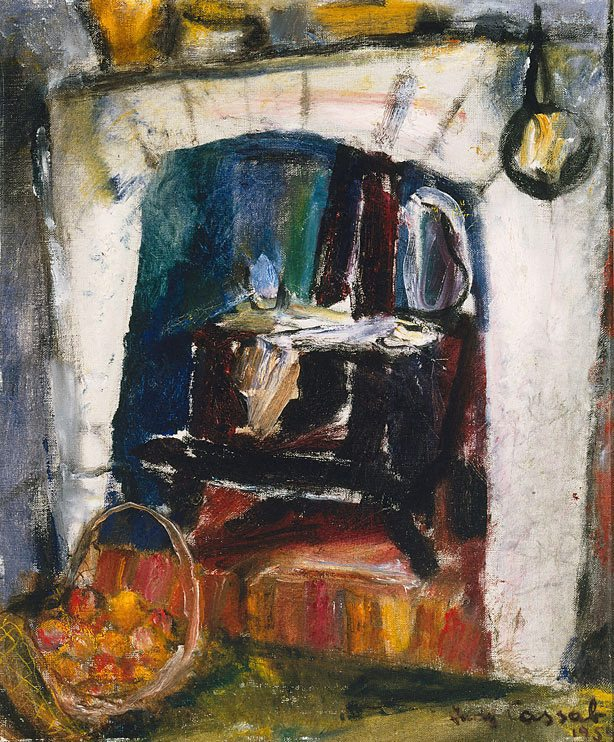 The old stove by Judy Cassab, 1954
